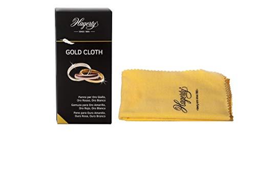 Hagerty Gold Cloth Goldputztuch 36 x 30 cm I Imprägniertes Gold...