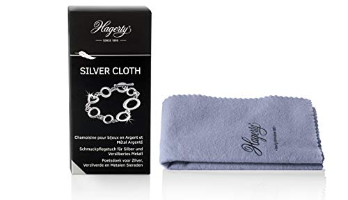 Hagerty A116018 Silver Cloth, Mikrofaser, small