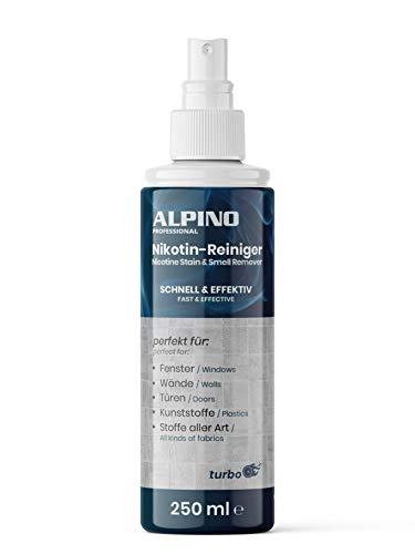 Nikotinentferner Spray 250ml | Ruß-, Eiweiß- und Fettlöser |...