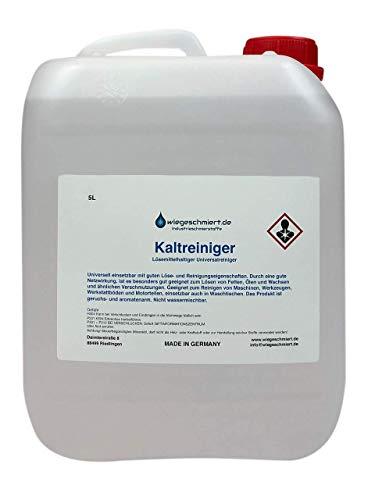 Kaltreiniger Maschinen & Anlagenreiniger (5 Liter)