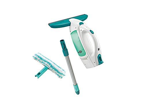 Leifheit Fenstersauger Set Dry & Clean mit Stiel & Einwascher für...