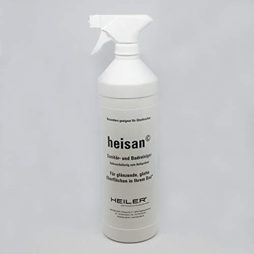 HEILER heisan-Sanitär- und -Badreiniger (Karton mit 1-Liter-Flasche...