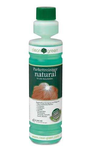 clean & green Parkettreiniger natural für geölte/versiegelte...