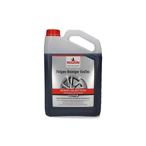 NIGRIN 72933 EvoTec Felgenreiniger, 3 Liter, selbstaktiver Reiniger...