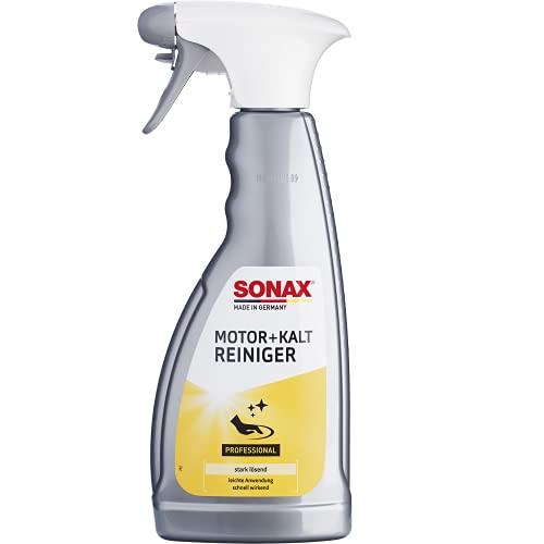 SONAX Motor+KaltReiniger (500 ml) beseitigt schnell und zuverlässig...