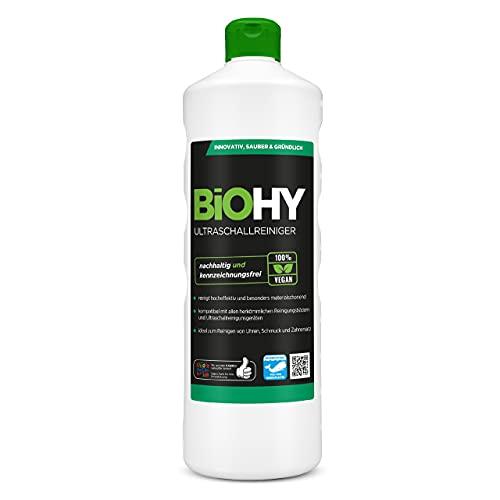 BiOHY Ultraschallreiniger (1l Flasche)   intensive und...