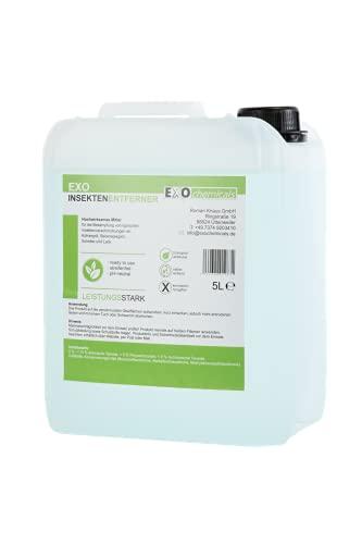 EXOCHEMICALS 5 Liter Insektenentferner   sofort wirkend,...