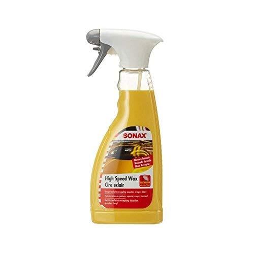 SONAX HighSpeedWax (500 ml) blitzschnelle, hochwirksame Reinigungs-...