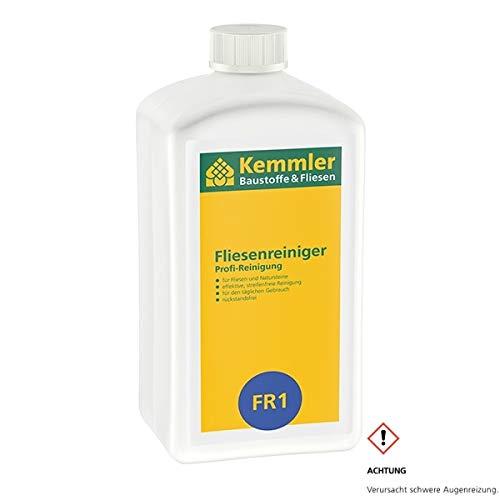 Kemmler Fliesenreiniger FR1 – 1 Liter/Flasche Für Feinsteinzeug,...
