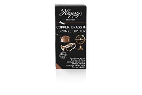 HAGERTY Kupfer Brass & Bronze Duster I Poliertuch imprägniert Kupfer...