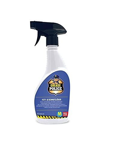 Grease Police inkl. Mikrofasertuch   kraftvoller Reiniger gegen Fett,...