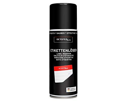 OCTOPUS Etikettenentferner und Kleberlöser Spray, Klebstoff-Entferner...