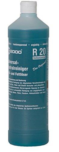 R20 Reiniger bzw Neutralreiniger Konzentrat 1 Liter -...