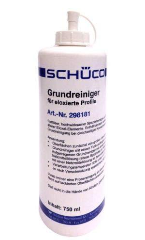 SCHÜCO- Fenster Aluminium Grundreiniger, 750 ml, für eloxierte...