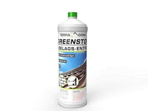 TerraDomi 1 Liter Greenstop für 300m² I Grünbelagsentferner gegen...