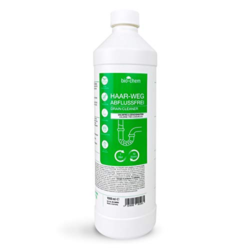 bio-chem Haar-weg Abfluss-Frei 1000 ml Abflussreiniger Rohrreiniger...