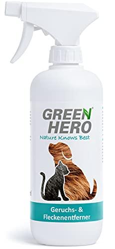 Green Hero Geruchsentferner und Fleckenentferner gegen Tiergerüche...