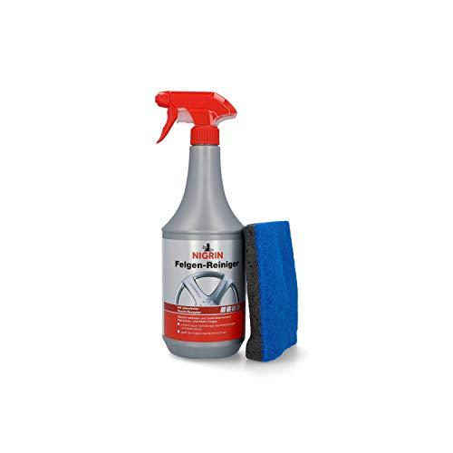 NIGRIN 84083 Felgen-Reiniger und Felgenschwamm 1 Liter