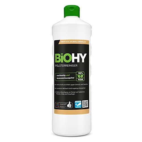 BiOHY Spezial Polsterreiniger (1l Flasche) | Ideal für Autositze,...