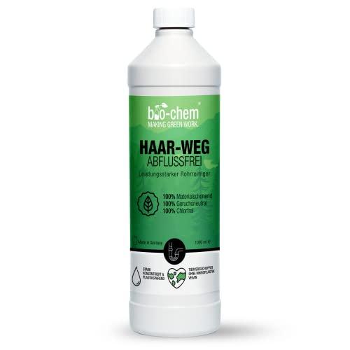 bio-chem Haar-weg Abflussfrei – Flüssiger Abflussreiniger,...