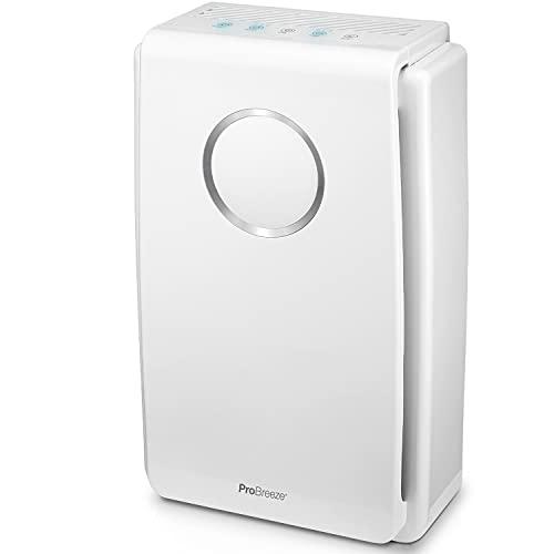 Luftreiniger von Pro Breeze mit True HEPA Luftfilter für Allergiker,...