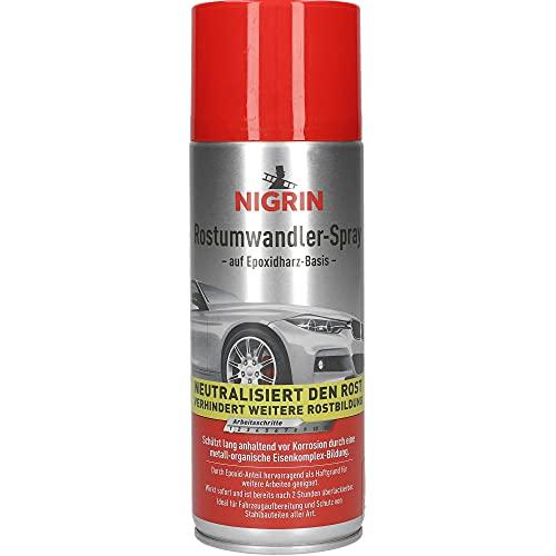 Nigrin 74107 Rostumwandler Spray, 400 ml, Korrosionsschutz Lack mit...