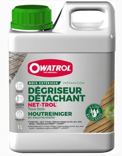 OWATROL – NET-TROL – 1 L – Holzentgrauungs- und...