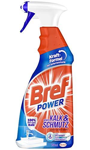 Bref Power gegen Kalk und Schmutz, Kalkreiniger, 750 ml,...