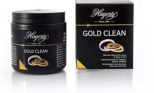 Hagerty Gold Clean Goldbad 170 ml I Effektives Schmuck-Tauchbad zur...