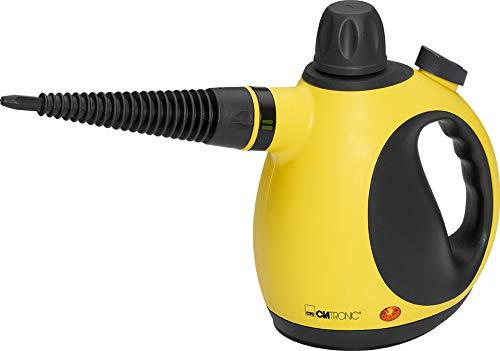 Clatronic DR 3653 Dampfreiniger inkl. 9-teiligem Zubehör, extra 5 m...