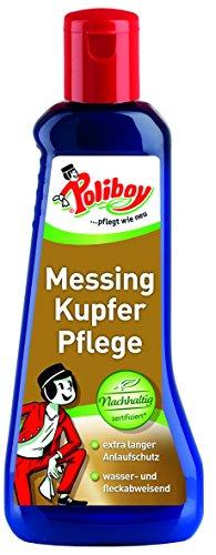 Poliboy - Messing Kupfer - Reiniger und Pflege von Messing und Kupfer...