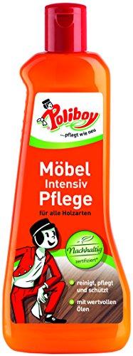 Poliboy - Möbel Intensiv Pflege - hervorragend zur Reinigung, Pflege...