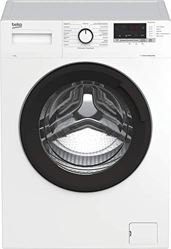 Beko WML81434NPS1 Waschmaschine/ Restzeitanzeige und Schleuderwahl/...