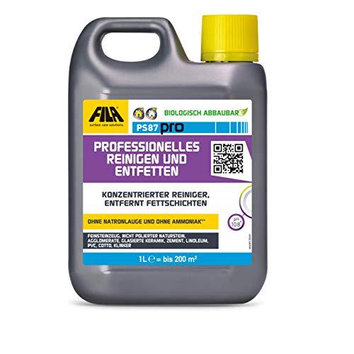 Fila PS87 Fleckentferner, Reinigungs,- und Entfettungsmittel 1 Liter