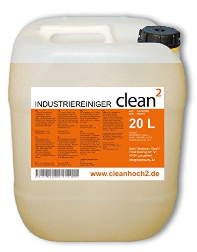 20L Clean 2 Werkstattreiniger Bodenreiniger Industriereiniger...