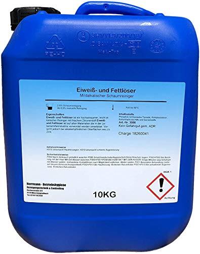 Eiweiß- und Fettlöser 10l Spezial Fettlöser Öl Ruß...