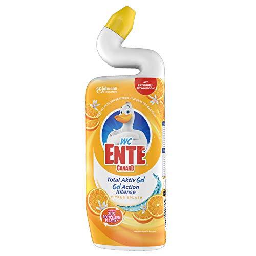 WC Ente Total Aktiv Gel Flüssiger WC Reiniger, mit...