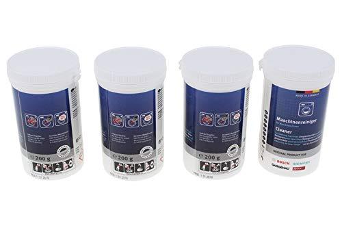 Bosch 311611Original Waschmaschinenreiniger, 200g, 4Stück