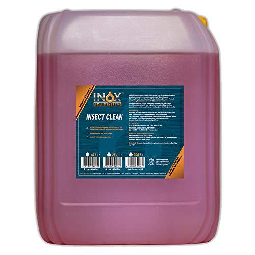 INOX® Insektenreiniger Insektenentferner Konzentrat, 10L - Reiniger...