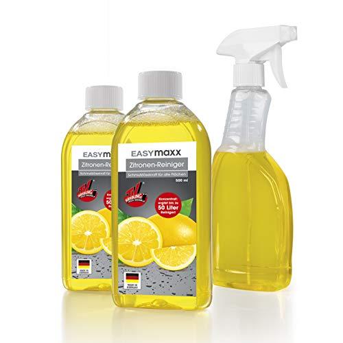 EASYmaxx WC Reinigungsmittel (Reinigungsmittel Zitrone 3tlg.)
