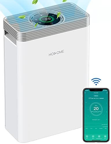 Luftreiniger HEPA, Hosome H13 Luftfilter, Air Purifier entfernt bis zu...