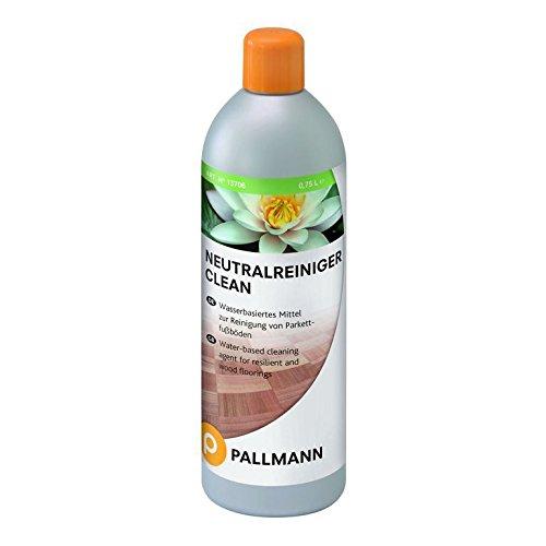 Pallmann'Clean' Neutralreiniger 0,75 Liter Gebinde