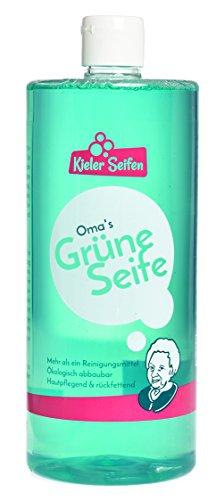 Kieler Seifen - Oma's Grüne Seife Allzweckreiniger Seife Putzmittel...