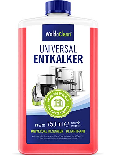 Entkalker für Kaffeevollautomat und Kaffeemaschine - 750ml für 6...