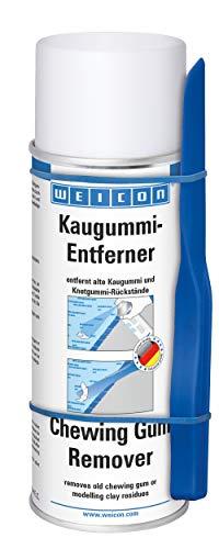 WEICON Kaugummientferner Spray 400 ml, Kältespray gegen Kaugummi u.Ä...