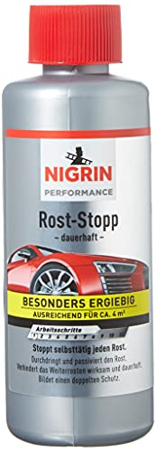 NIGRIN 74049 Rost-Stopp, 200 ml, Korrosionsschutz auf Tanin-Basis,...