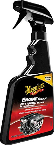 Meguiar's ME G14816 G14816EU Clean Engine Clean Motorreiniger, 473 ml