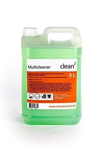 Clean2 5 Liter Reiniger Teppichreiniger, Polsterreiniger...