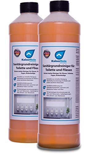 KaiserRein Extra starker Sanitär-Grundreiniger für Toilette, WC,...