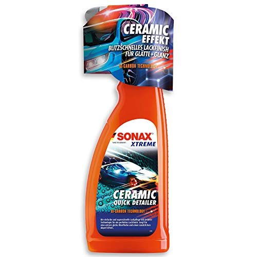 SONAX XTREME Ceramic QuickDetailer (750 ml) superschnelle Lackpflege...